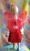 Бабочка (красная) №034к. Карнавальні костюми