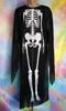 Балахон черный Скелет, Кощей №813к. Карнавальні костюми