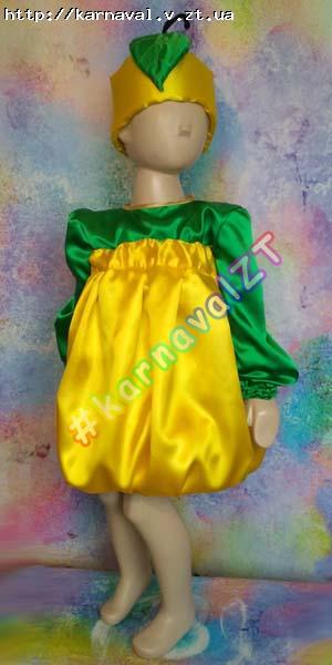 Детский карнавальный костюм Груша для девочки    Костюмы грибов ... 16502d0d7cf6d