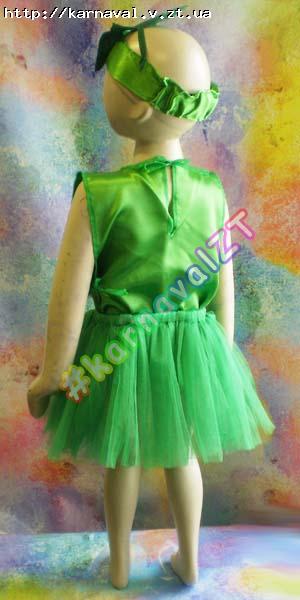 Детский карнавальный костюм Огурец и Кабачок для девочки и мальчика     Костюмы грибов fe3e7730e4477